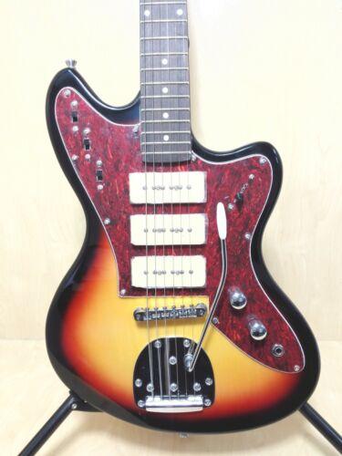 Haze HSJA 1950 Electric Guitar,Solid Basswood Body,SSS Pickups,Sunburst+Free Bag