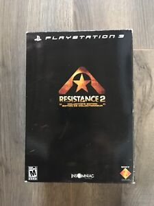 Résistance 2 édition collector/collection PS3