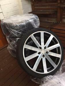 Mag wheels and tyre set 20 inch to fit Subaru Stanmore Marrickville Area Preview