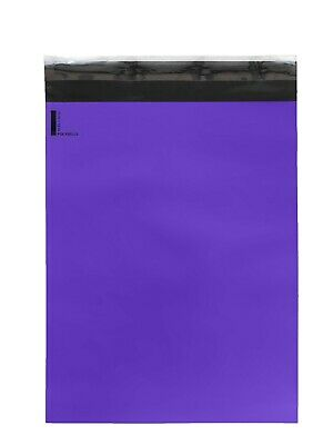 300 10x13 Poly Mailers Envelopes Self Sealing Shipping Mailers Purple Polysells