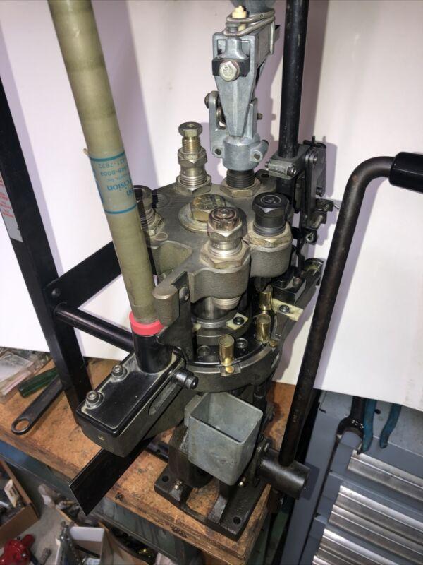 Dillon RL 1050 Progressive Reloader Press W 45 ACP Dies Works Good Used