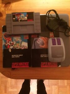 Mario Paint Snes + Pad/Mouse/Book