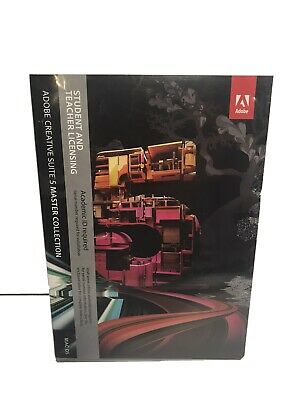 Adobe Master Collection Creative Suite 5 Student / Teacher Mac OS