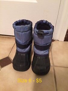Winter boots size 5 & 6