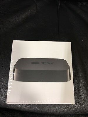 Stamp NEW SEALED Apple TV 3rd Generation MD199LL/A - Black -HARD TO FIND!!!!