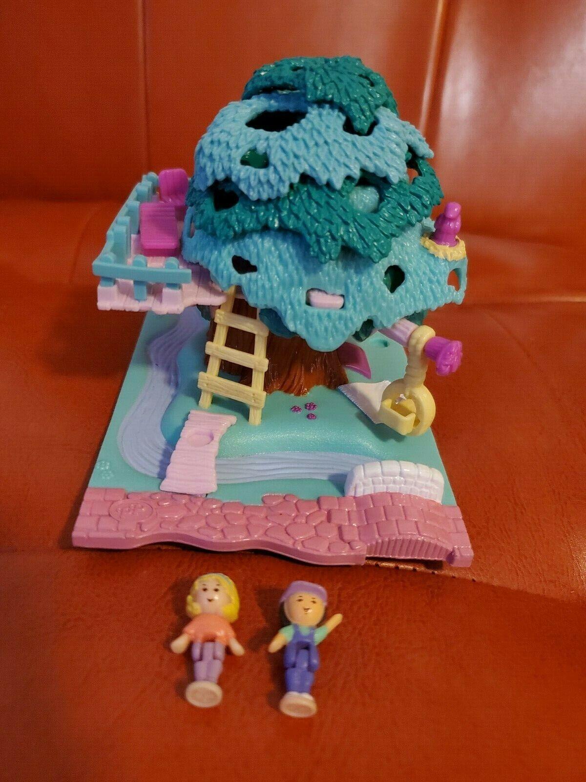 Vintage 1994 Polly Pocket Tree House - $45.00
