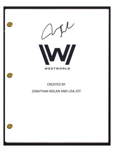 James Marsden Signed Autographed Westworld Pilot Episode Script COA
