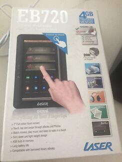 E book touch screen