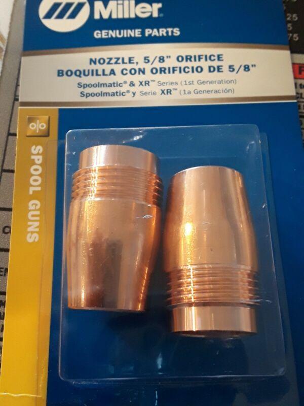 "MILLER Genuine 050622 SPOOLMATIC NOZZLES 5/8"" - QTY 2"