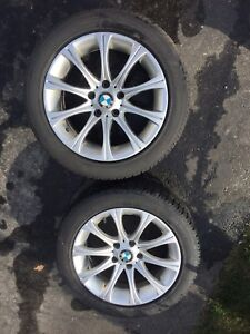 BMW  2012-2016, Winter Tires with Replica Alloys( 225/50/R17)