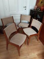 Midcentury Teak Stühle Stuhl Esszimmer Dansk Vintage Retro Rar Frankfurt (Main) - Nordend Vorschau