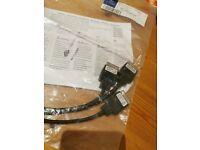 1668270104 original Mercedes media interface consumer cable set iPod USB AUX
