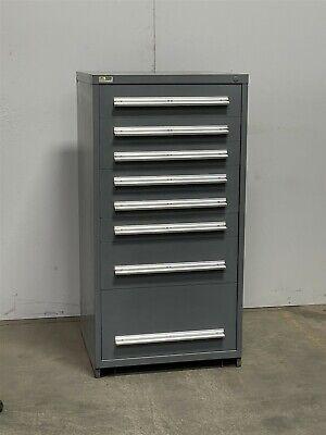 Used Stanley Vidmar 8 Drawer Cabinet Industrial Tool Storage 2406