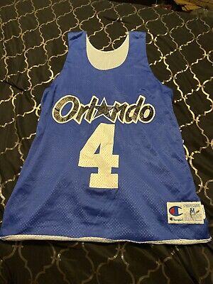 Champion ORLANDO MAGIC Reversible Practice NBA JERSEY size Medium