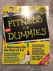 Fitness for dummies book