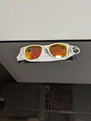 Syracuse Orange Mens Sunglasses. White With Orange Lens. (Syracuse Sunglasses)