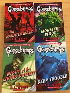 Goosebumps books NEW Wattle Grove Liverpool Area Preview