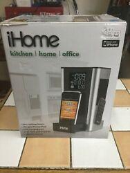 iHome ip39 Kitchen Timer & Alarm Clock Radio Speaker System For iPhone /ipod