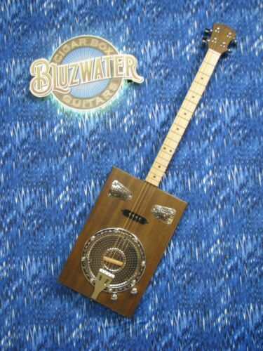 BLUZWATER STEAMER CIGAR BOX GUITAR