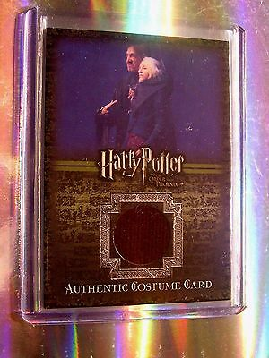 Harry Potter-OOTP-Evanna Lynch-Luna Lovegood-Movie-Authentic-Costume Card-C8