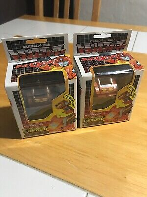 Transformers Choro Q Rodimus! Both Versions! In Box! Metallic & Anime Colors!