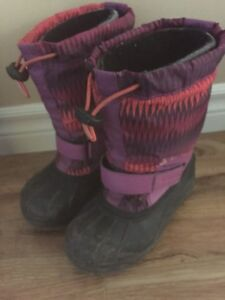 Columbia winter boots - girls size 1