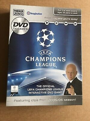 UEFA Champions League 2005/06 DVD Interactive Game - New & Sealed for sale  Cheltenham