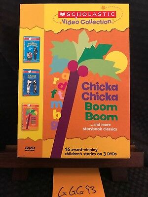 Scholastic Video Collection 3-Pack #2 - Chicka Chicka Boom Boom /Harry Dirty Dog