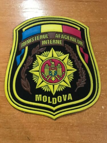 MOLDOVA PATCH POLICE - ORIGINAL