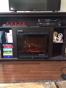 Fireplace /tv stand
