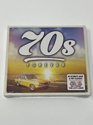 70s FOREVER - 3 CD BOX SET - VARIOUS ARTIST - ABBA - QUEEN - 10CC - NEW & SEALED