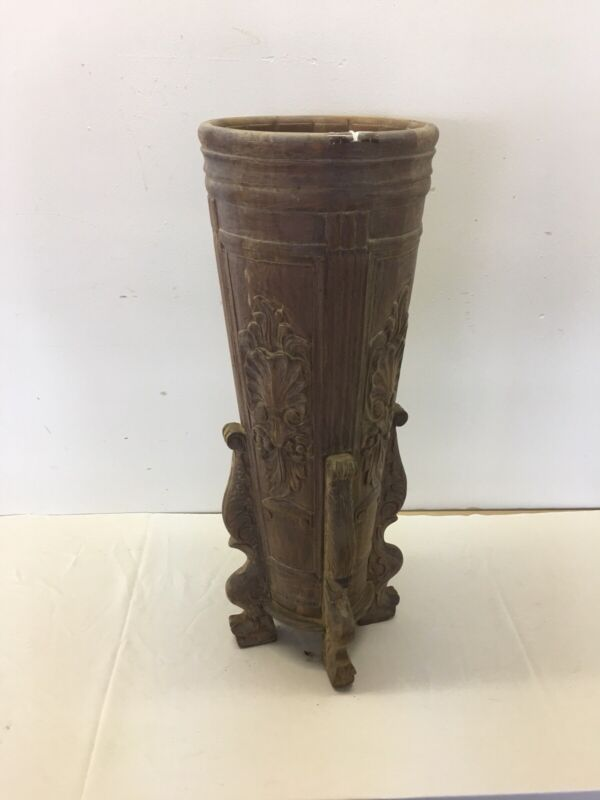 The Best Victorian Carved Umbrella Stand.