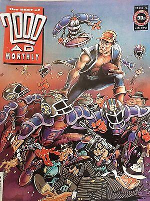 2000 AD best of 76 1991 Sci Fi Sam Slade Robo Hunter British Comic 2000AD
