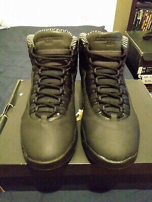 "Nike Air Jordan X 10 Retro CDP ""SHADOW"" Men's Size 13"