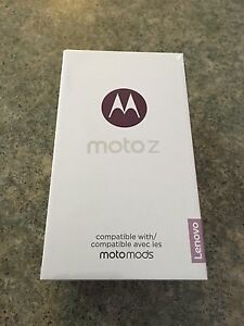Moto Z - brand new in box and sealed