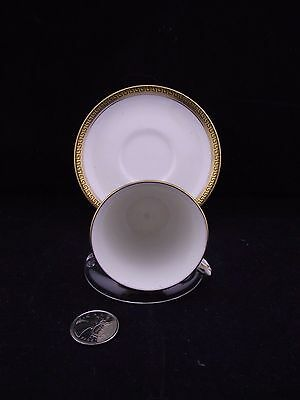 White   Gold Henry Birks   Sons Ltd Montreal Tea Cup And Saucer