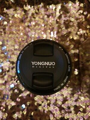 YONGNUO YN35MM F/2 Wide-angle Fixed Auto Focus & MF lens For Canon EF EOS NEW
