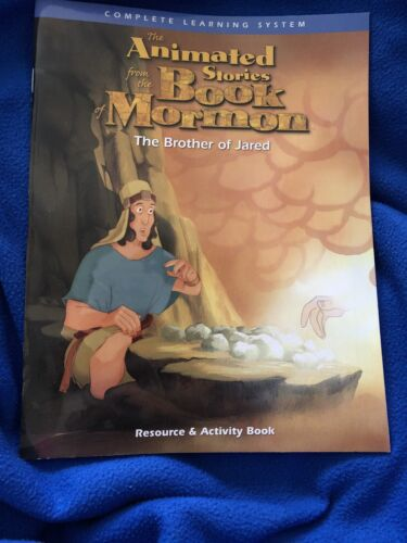 The Brother Of Jared Resource And Activity Book Animated Stories - $1.25