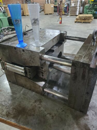 """Injection Mold """"Beer Icicle"""" 2 cavity hotrunner"""