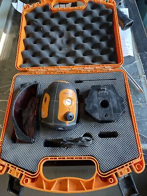 Acculine Pro 40-6520 Self Leveling Rotary Laser Level Wcase Free Shipping