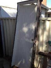 Solid Jarrah door and frame. From laundry. Good condition. Wembley Cambridge Area Preview