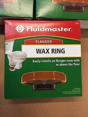 Fluidmaster flanged Wax Ring Toilet Bowl Gasket -