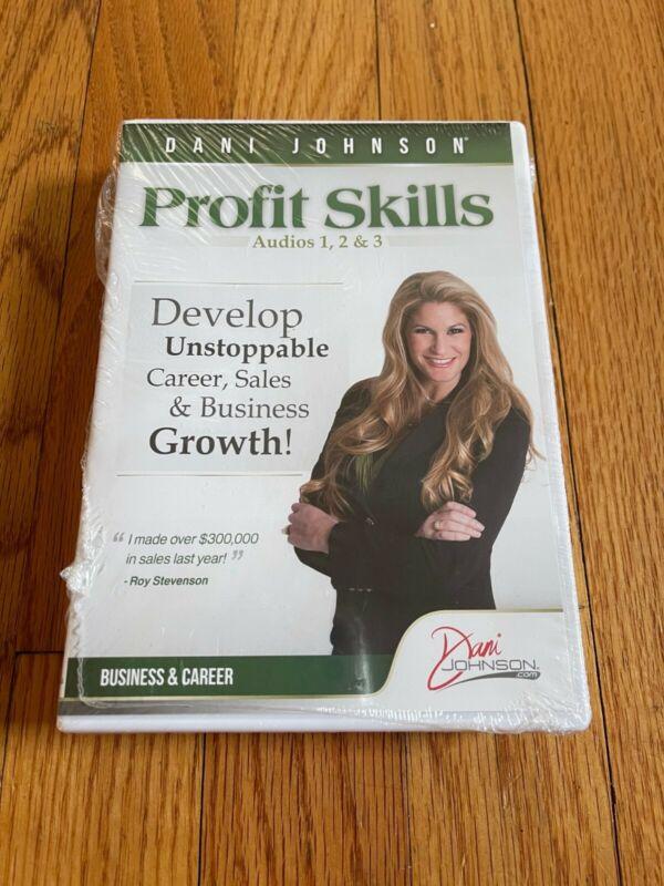 NEW Dani Johnson Profit Skills CDs #1-5 Sealed Business & Career Development