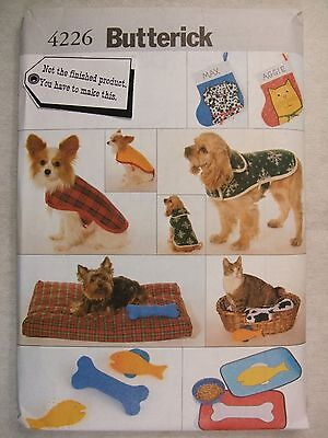 Dog Coat Cat Bed Food Mat Stocking etc Sewing Pattern 4226 B See Full Listing