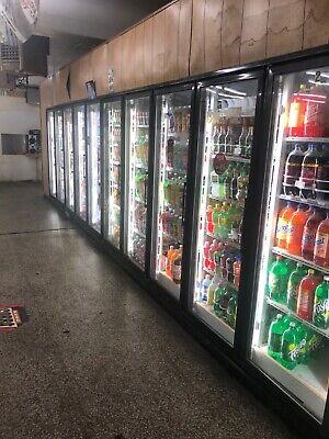 14 Door Beerpop Cooler Refrigerator Works Great