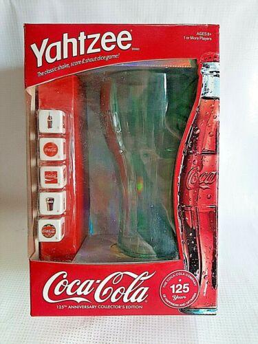 Yahtzee Coca-Cola 125th Anniversary Collector