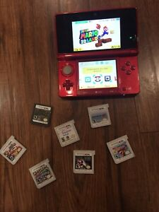 3ds (8 games) with charging wire 200$  (negotiable)