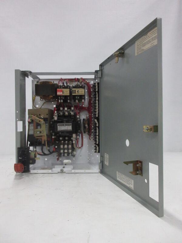 "General Electric GE 8000 Size 2 Starter 30 Amp Breaker Type 18"" MCC Bucket TEC"