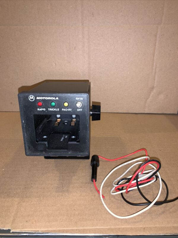 Motorola TDN9816A 12V Car Charger Including Base And Power Cord