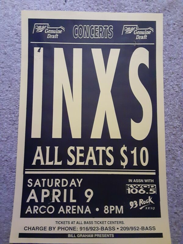 Inxs 3 Concert Posters
